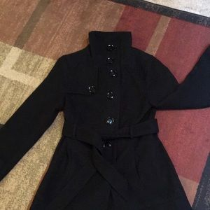 Worthington Black Peacoat.